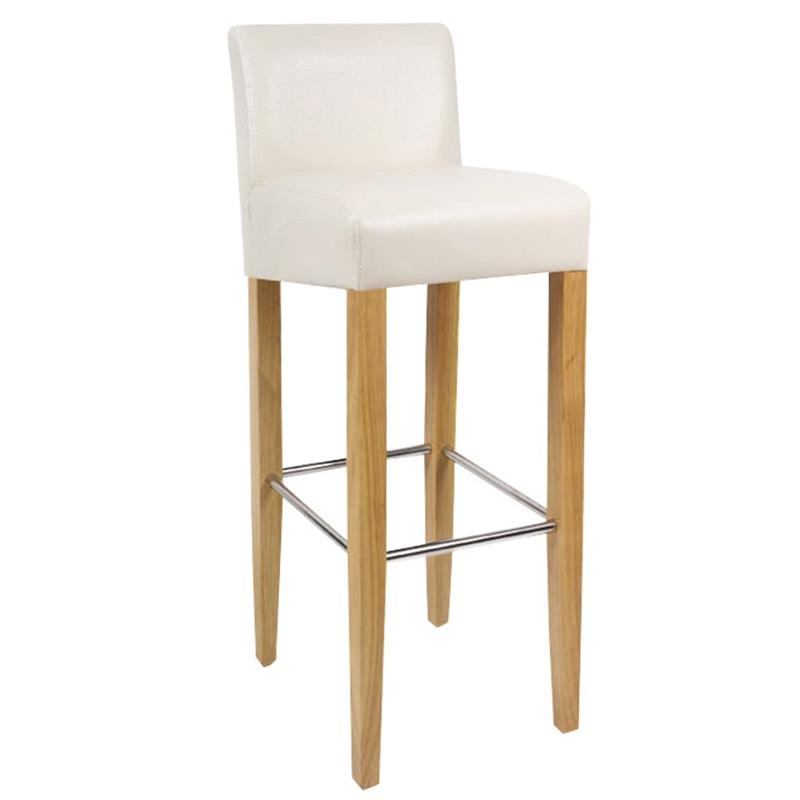 sixbros barhocker bistrohocker stuhl hocker massiv buche creme bar 01 bc ebay. Black Bedroom Furniture Sets. Home Design Ideas