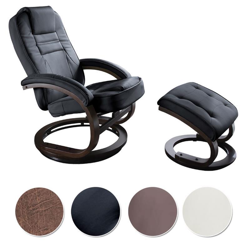 sixbros relaxsessel fernsehsesse tv sessel mit hocker farbwahl ebay. Black Bedroom Furniture Sets. Home Design Ideas