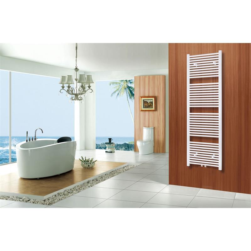 sixbros badheizk rper 500 mm breite heizk rper handtuchw rmer wei gerade r18 ebay. Black Bedroom Furniture Sets. Home Design Ideas