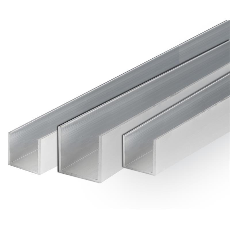 Relativ Aluminum U Profil Schiene Alu Walzblank T66 U-Profil Stange  TP12