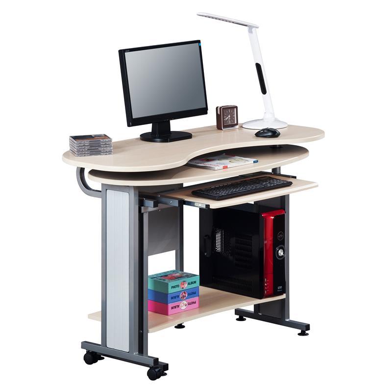 Sixbros computerschreibtisch computertisch pc for Platzsparender schreibtisch