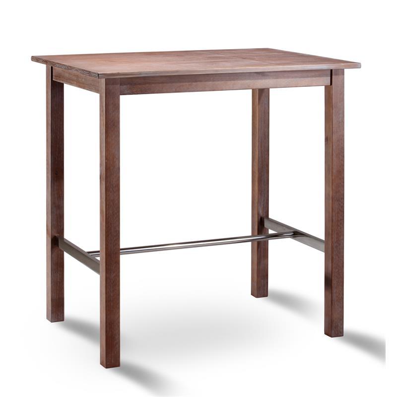 Tavolo alto da bar pino ciliegia 75x105 bt 105 1446 for Tavolo alto usato