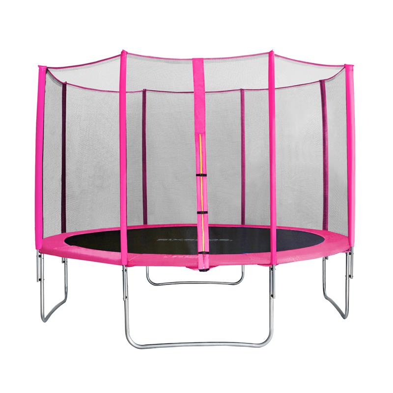 Sixbros Sixjump 12ft 3 70 M Garden Trampoline Pink With