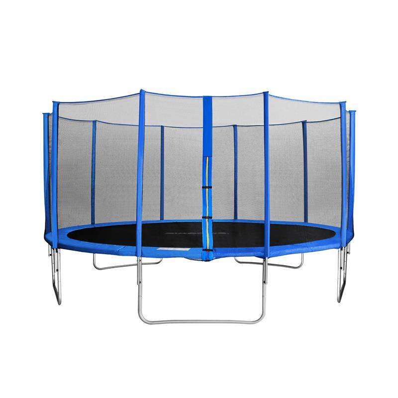 sixbros sixjump gartentrampolin blau trampolin mit netz 4 60 m cst460 l1784 ebay. Black Bedroom Furniture Sets. Home Design Ideas
