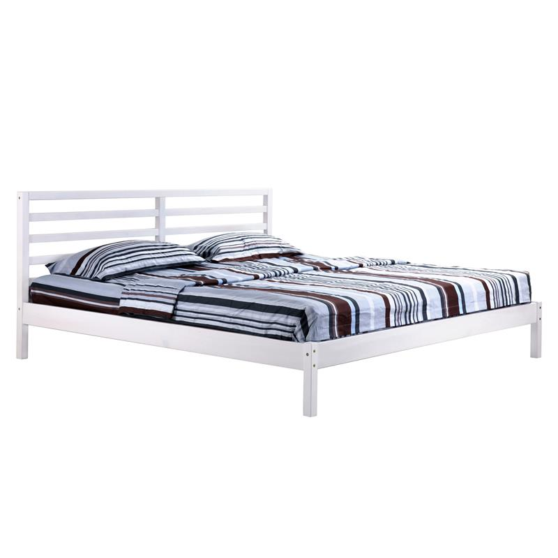 sixbros holzbett doppelbett bett kiefer futonbett 140x200. Black Bedroom Furniture Sets. Home Design Ideas