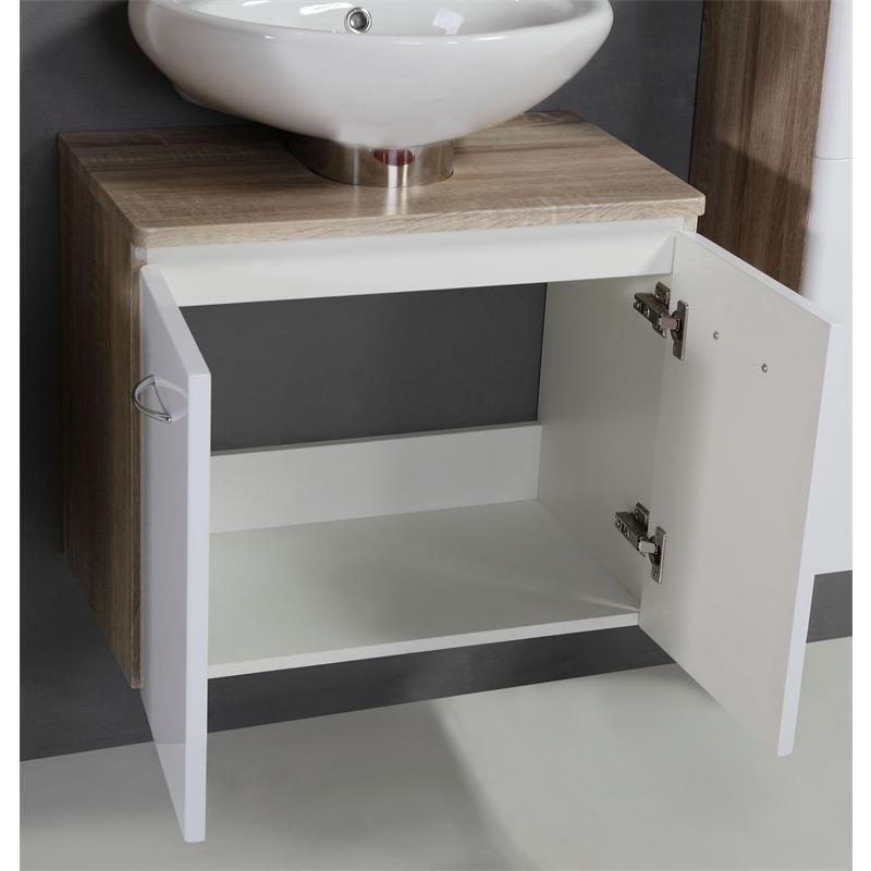 sixbros badezimmerm bel badm bel set eicheoptik wei bad marle ytg23 060d 1888 ebay. Black Bedroom Furniture Sets. Home Design Ideas