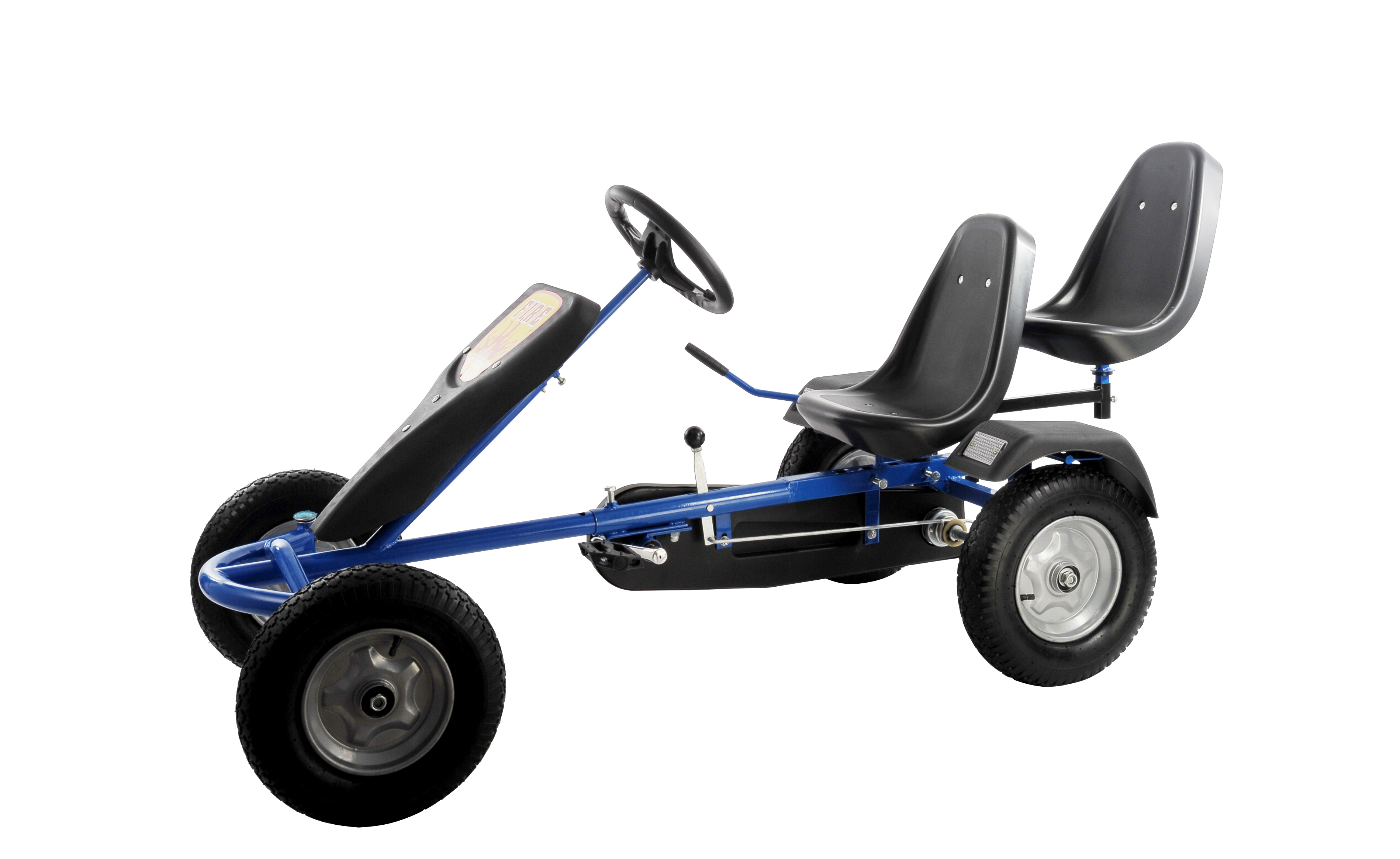 sixbros pedal riesen gokart 2 sitzer gocart tretauto tretfahrzeug f160ab 695 ebay. Black Bedroom Furniture Sets. Home Design Ideas