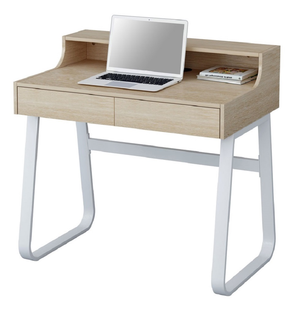 Sixbros scrivania porta pc tavolo ufficio diversi colori for Schreibtisch holzoptik