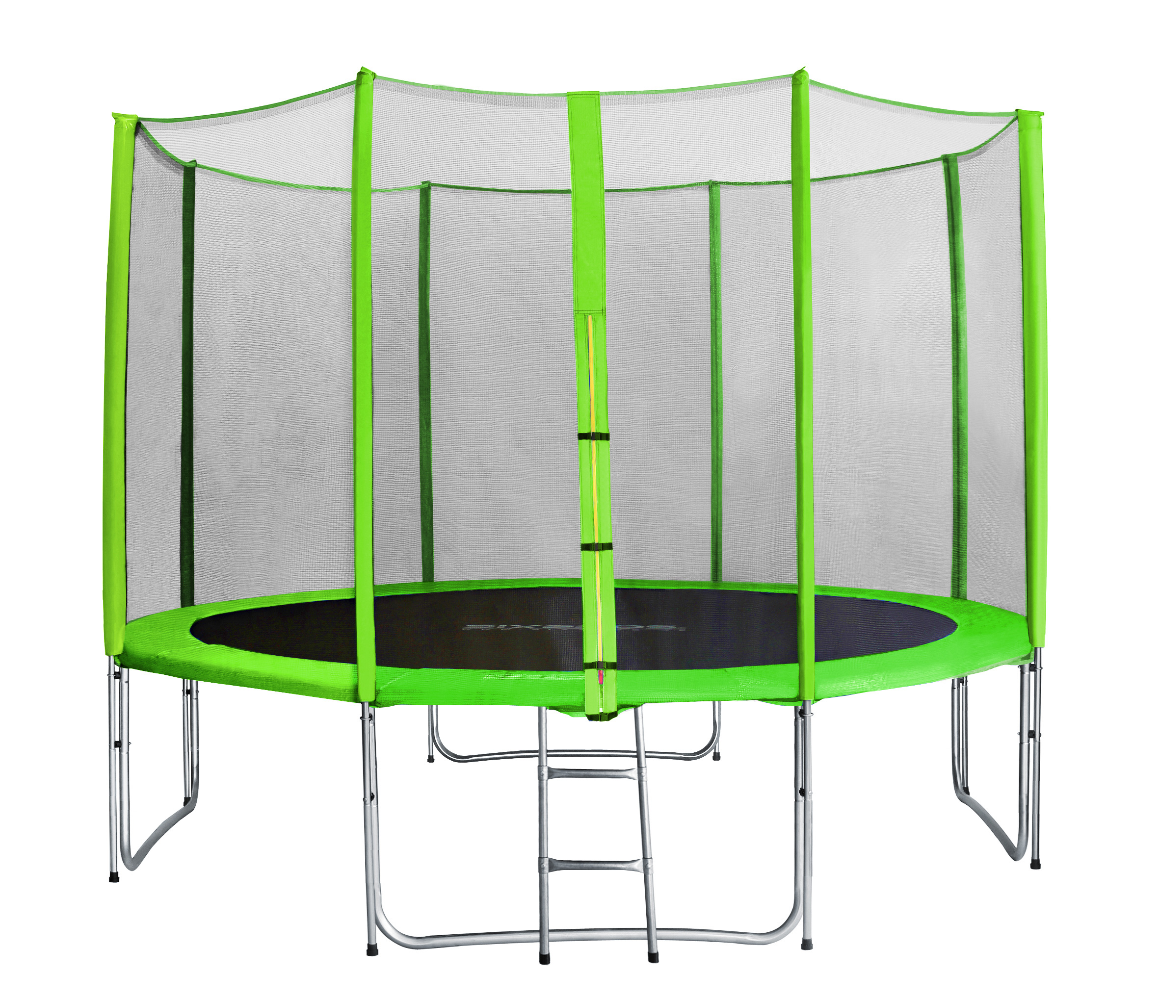 sixbros sixjump trampoline de jardin filet l ext rieur complet 185 460cm ebay. Black Bedroom Furniture Sets. Home Design Ideas