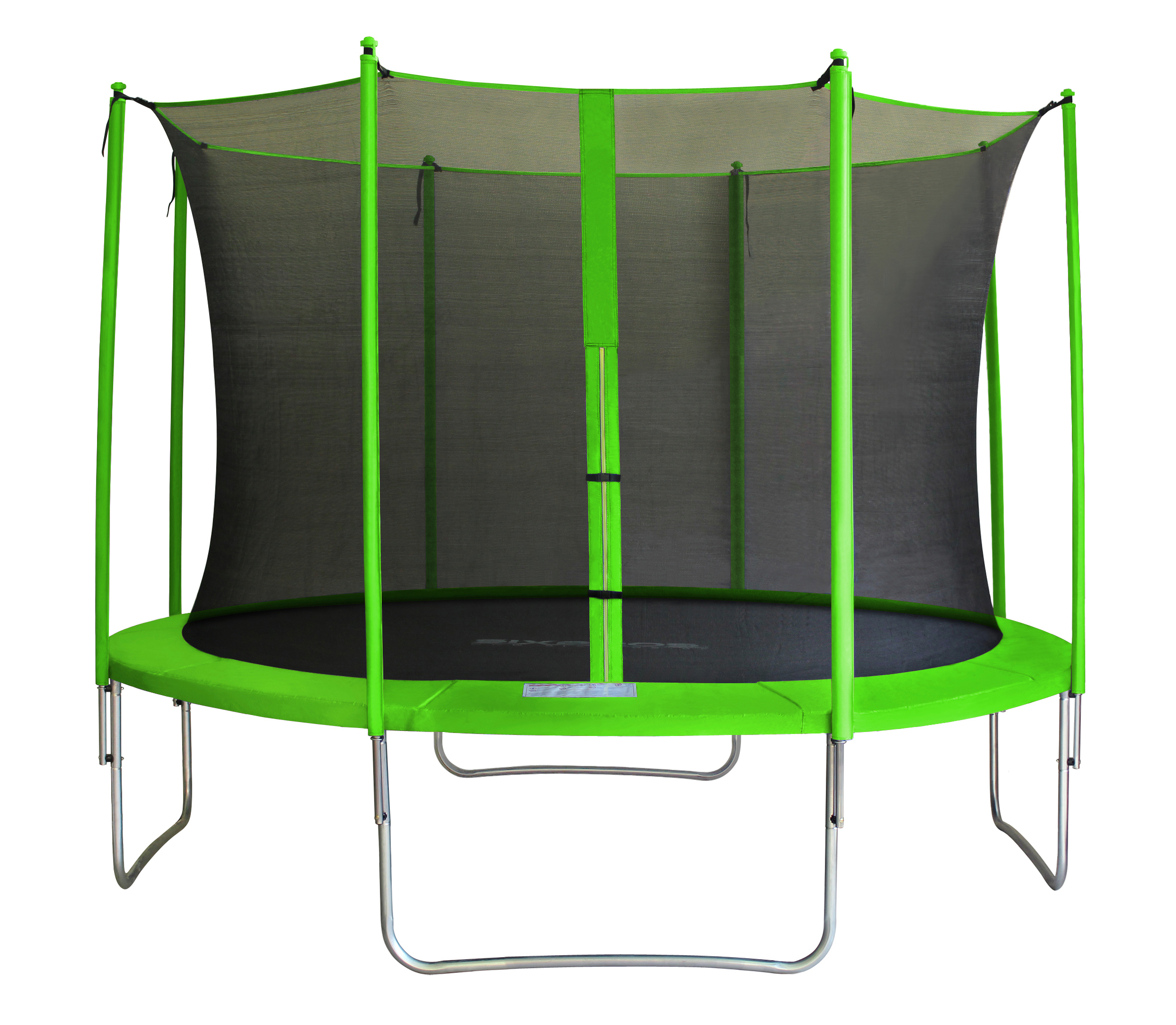 sixbros sixjump trampoline de jardin filet a l int rieur 185 460cm ebay. Black Bedroom Furniture Sets. Home Design Ideas