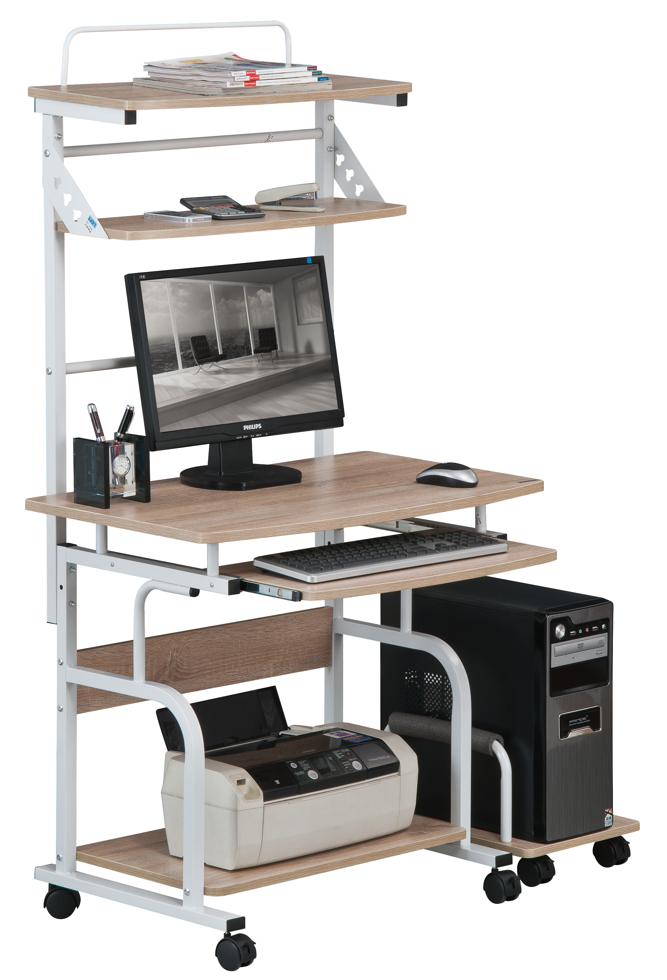 Sixbros computer desk workstation work table different for Furniture y equipment