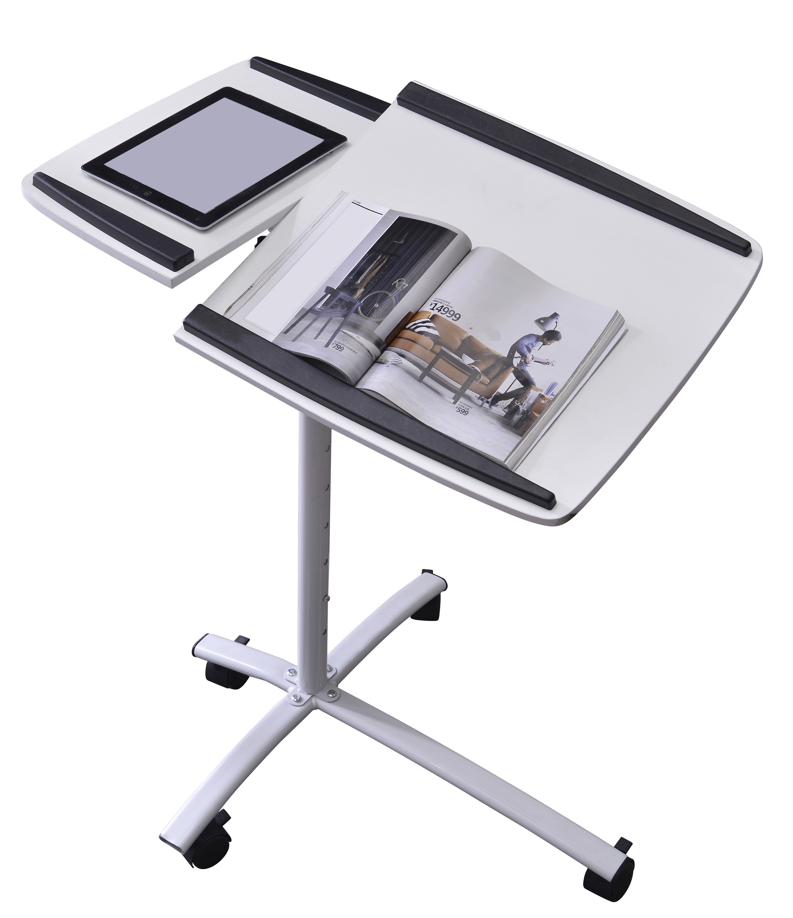 Sixbros Laptop Table Notebook Desk Adjustable Different