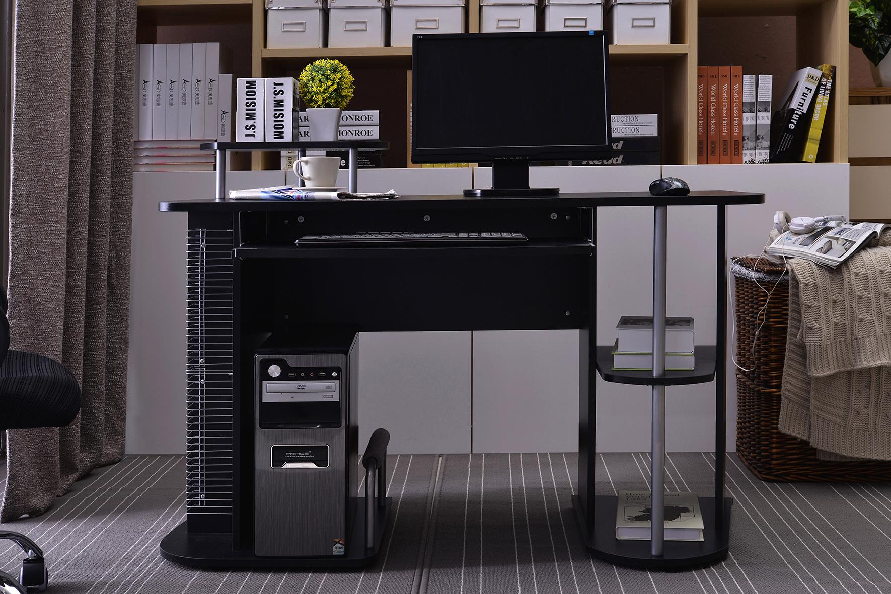 Sixbros computerschreibtisch computertisch schreibtisch for Computertisch schreibtisch