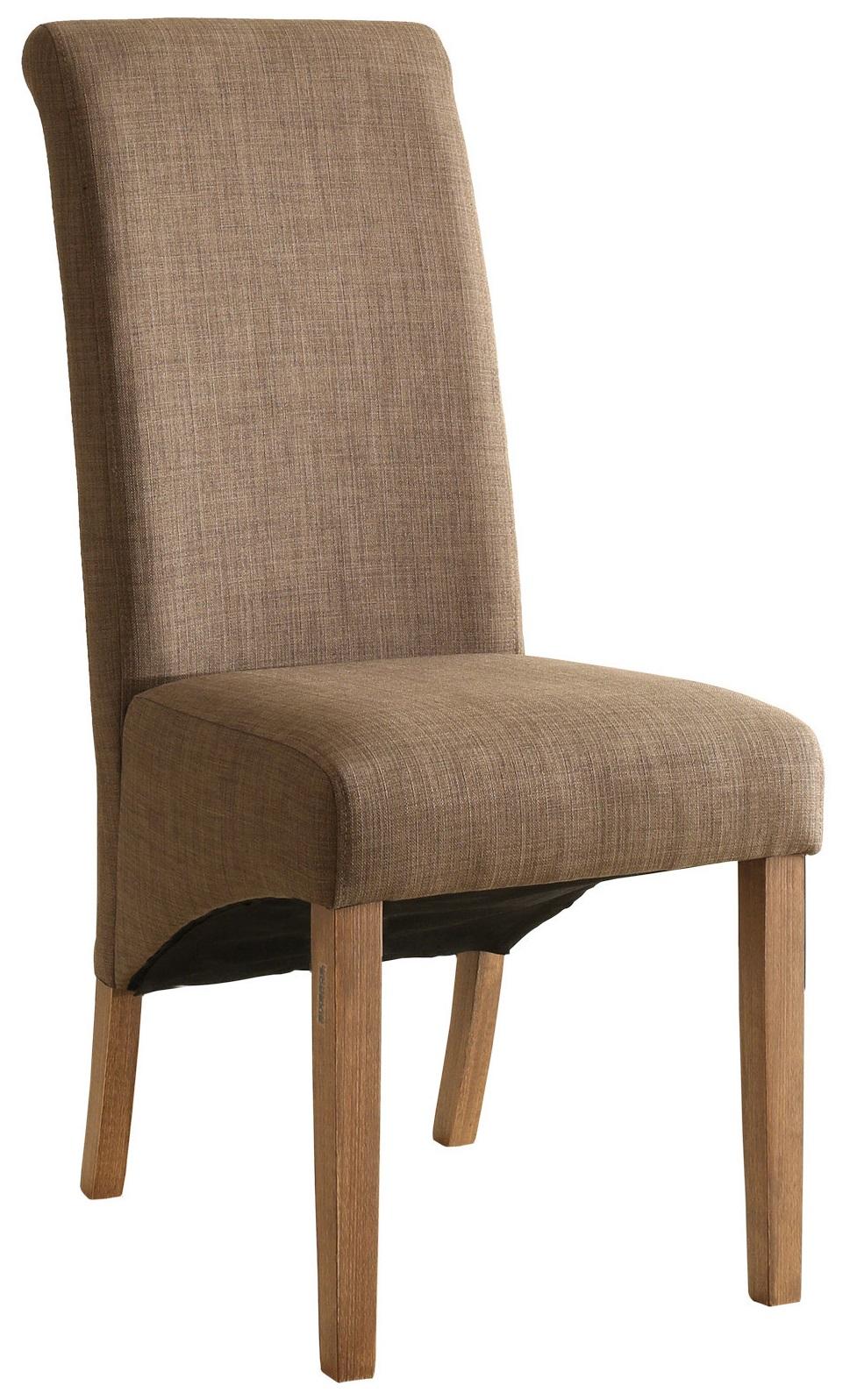 Sixbros silla de comedor silla tapizada haya tela varios - Tela para sillas de comedor ...