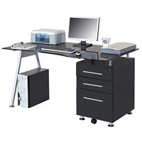 Computer Desk Black MBJ-01B/70