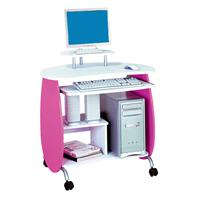 Bureau Informatique rose-blanc Q-203A/72