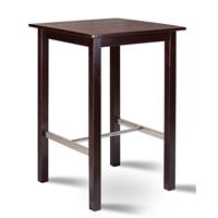 Bistro bartable 75x75 solid pine wenge color BT-75/111