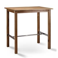 Bistro bartable hightable 75x105 solid pine oak color BT-105/113