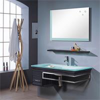 Fitted Bathroom Furniture Set Bari Wenge - M-70130/238