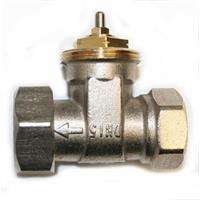 """Thermostatventil Durchgang 1/2"""" M 30 x 1,5 mm Gewinde"""