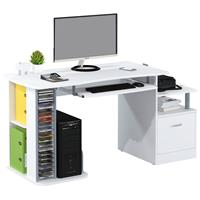 Computer Desk High Gloss White S-202A/732
