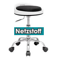 Swivel Stool Working Stool White/Black M-95119/746