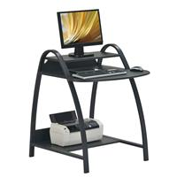 Mesa de ordenador negro S-208/1062