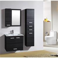 Ensemble meuble de salle de bain Bilbao Wengé M-70282/1190