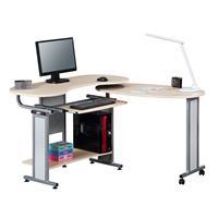 Mesa de ordenador rebatible/plegable arce S-213/1295