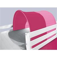 Tunnel / Höhle für Hochbett Spielbett Pink TSG-49