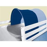 Tunnel / Tana per letto rialzato letto gioco azzurro/blu TSG-52