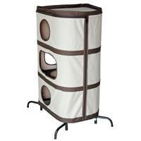 Cat play tower Grey/Dark Brown 10013/1493