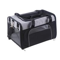 Pet Trolley Carrier Bag Black/Grey 1010/1506