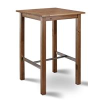 Bistro bartable 75x75 solid pine oak color BT-75/108