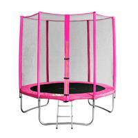 SixJump 6FT 1.85 M Garden Trampoline Pink TP185/1571