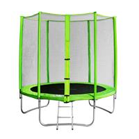 SixJump 6FT 1.85 M Garden Trampoline Green TG185/1572