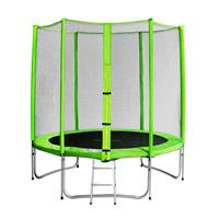 SixJump 6FT 1.85 M Garden Trampoline Green TG185/1575