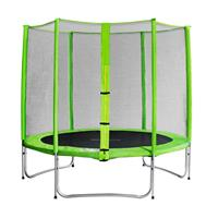 SixJump 8FT 2.45 M Garden Trampoline Green  TG245/1608