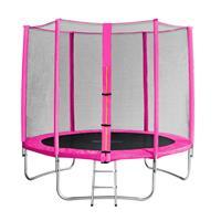 SixJump 8FT 2,45 M Garden Trampoline Pink  TP245/1610