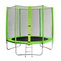 SixJump 8FT 2,45 M Garden Trampoline Green  TG245/1611