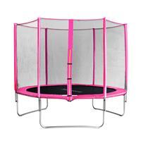 SixJump 10FT 3.05 M Garden Trampoline Pink   CST305/L1688