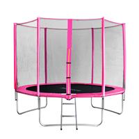 SixJump 10FT 3.05 M Garden Trampoline Pink  TP305/1694