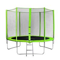 SixJump 10FT 3.05 M Garden Trampoline Green  TG305/1695