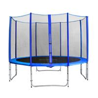 SixJump 12FT 3.70 M Garden Trampoline Blue TB370/1714