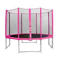SixJump 12FT 3.70 M Garden Trampoline Pink TP370/1715