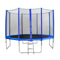 SixJump 12FT 3.70 M Garden Trampoline Blue  TB370/1717