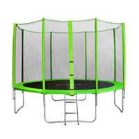 SixJump 12FT 3.70 M Garden Trampoline Green  TG370/1719