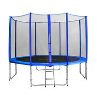 SixJump 12FT 3.70 M Garden Trampoline Blue TB370/1720