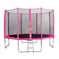 SixJump 13FT 4.00 M Garden Trampoline Pink  TP400/1742