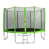 SixJump 13FT 4.00 M Garden Trampoline Green  TG400/1743
